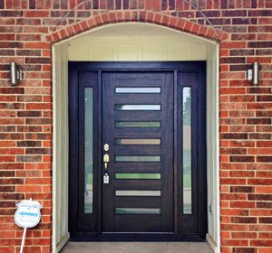 Modern Exterior Door Dallas TX