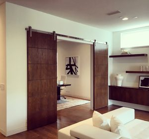 Interior Barn Doors Installed in Dallas