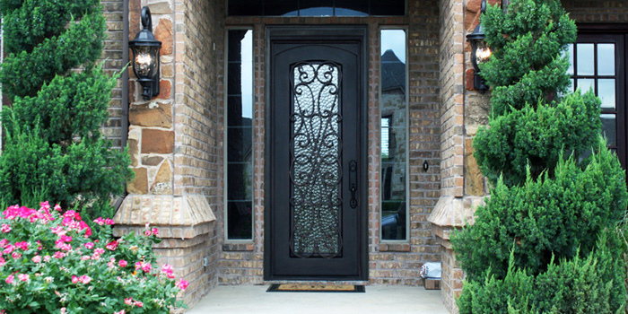wrought iron doors dallas tx