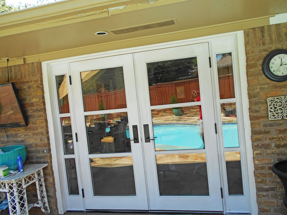 Project gallery of doors dallas door designs for Custom patio doors
