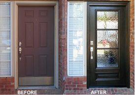 Iron Door U2013 Before U0026 After