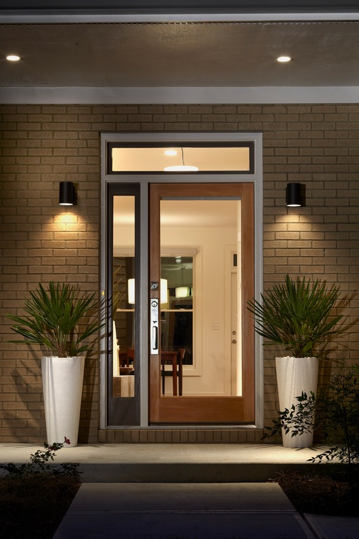 5 modern front doors for 2016 dallas door designs for Front door light fixtures