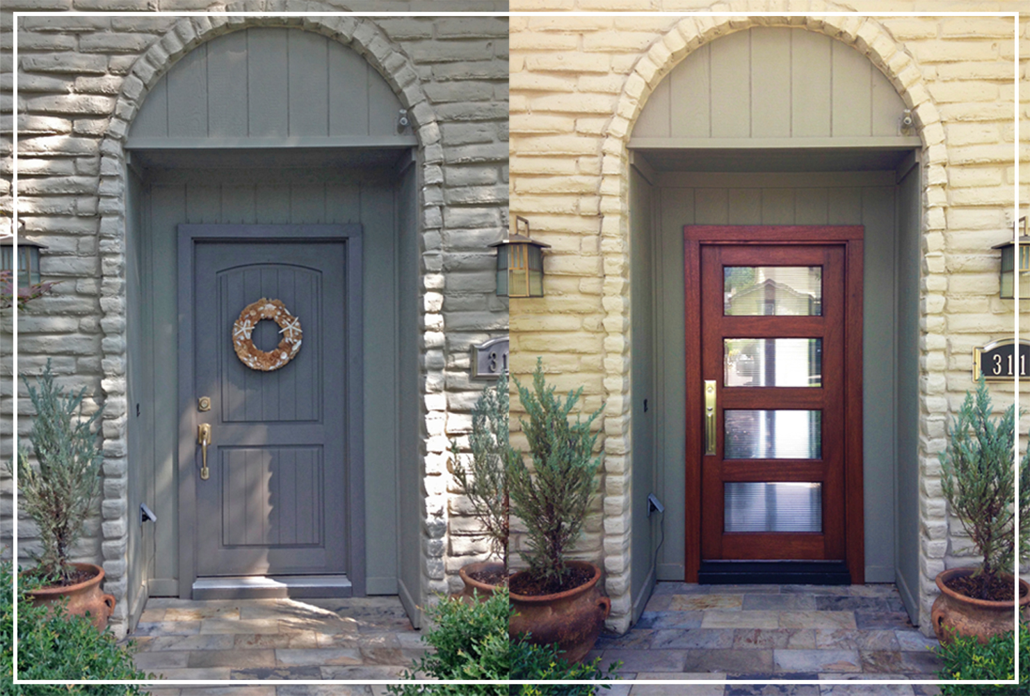 4 budget curb appeal projects dallas door designs Curb appeal doors