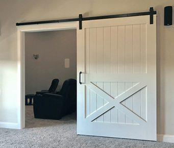 Merveilleux Painted Hand Made Barn Doors