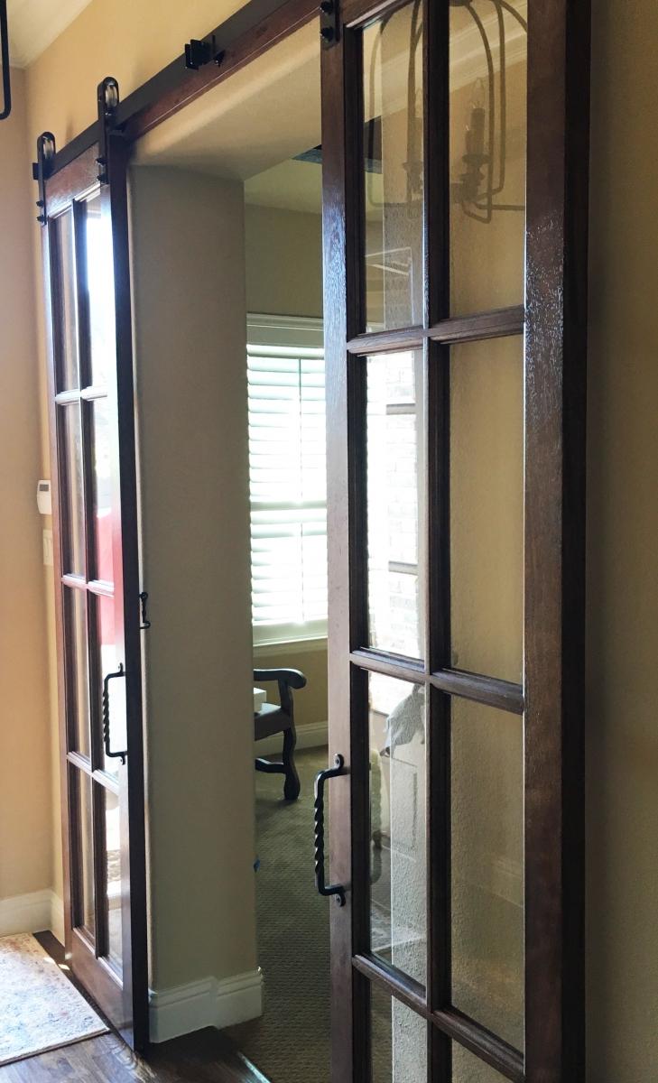 Barn Doors Dallas Tx Sliding Barn Door Installation