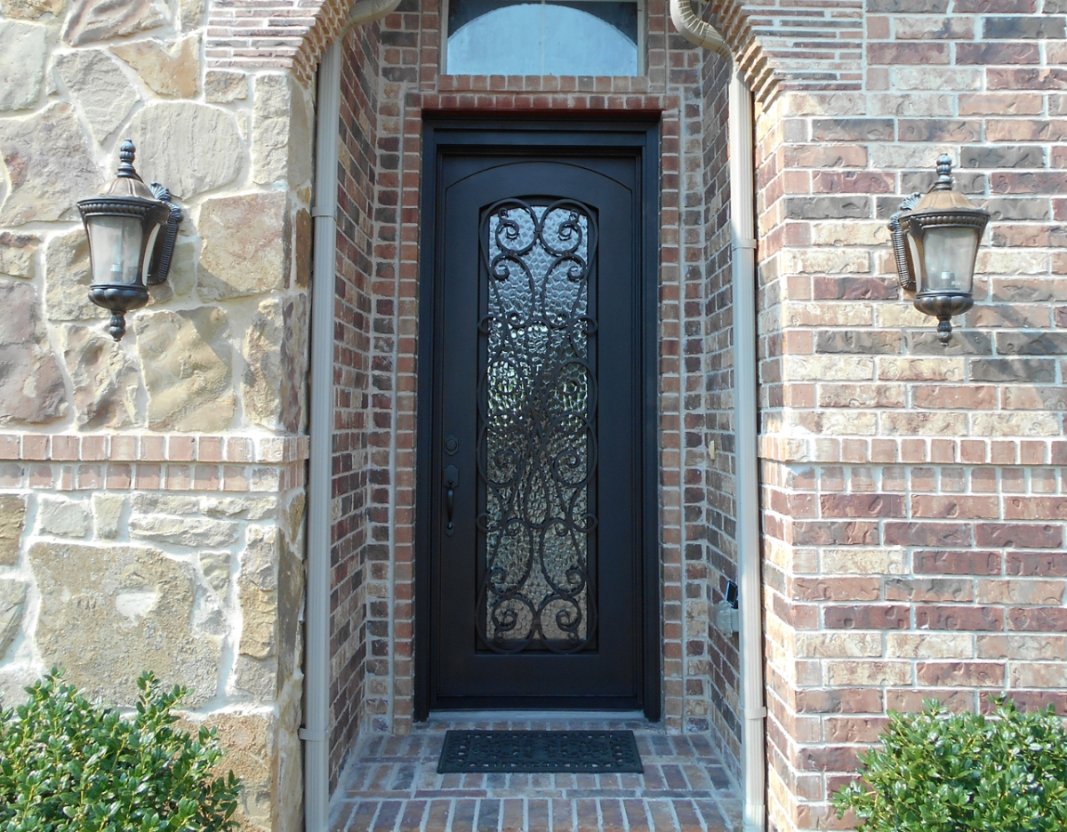 Custom Iron Doors Dallas Tx Design Installation