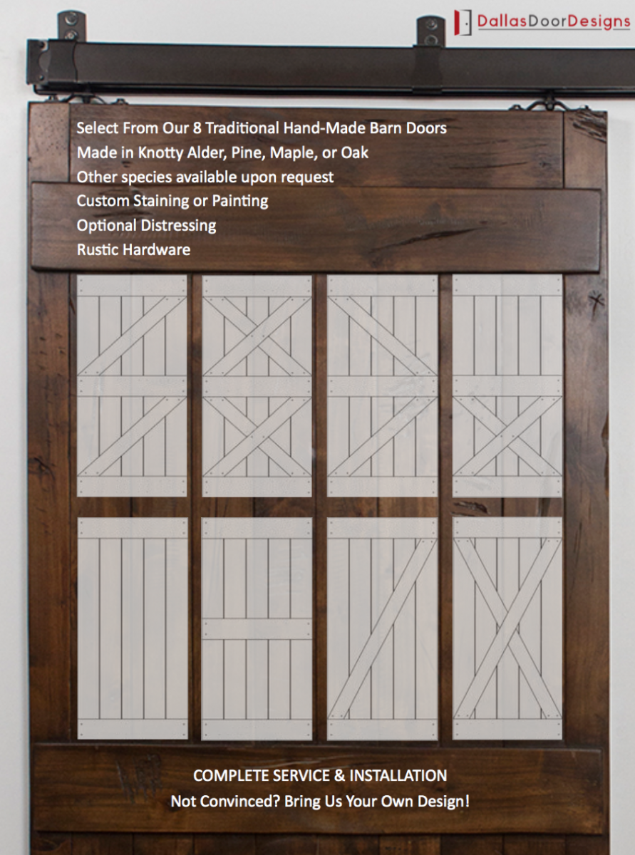 Sliding barn door designs - Barn door patterns ...