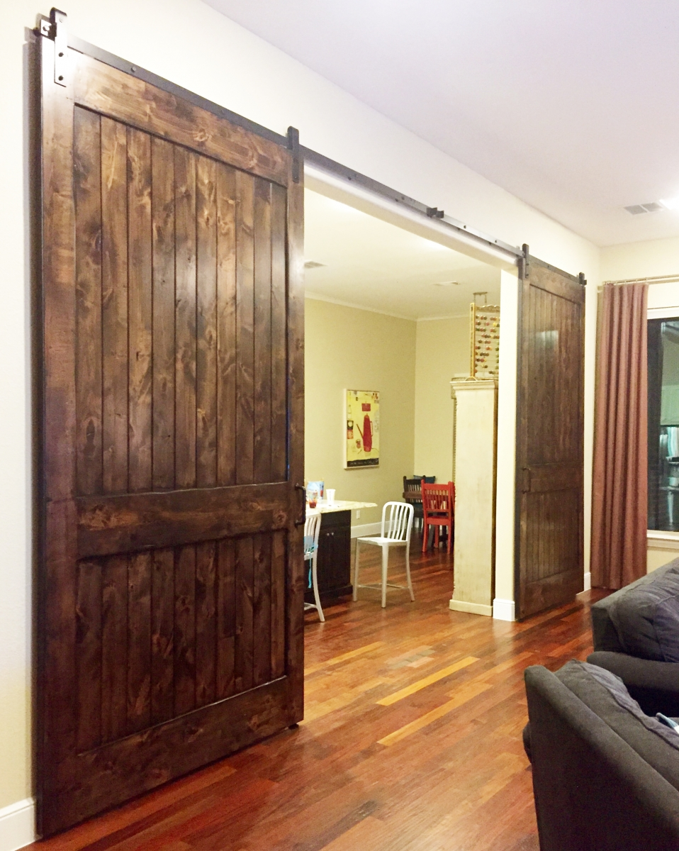 Barn Doors Dallas Tx Sliding Barn Door Installation