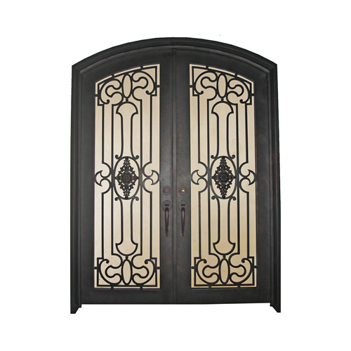 Double Door #2 ...  sc 1 st  Dallas Door Designs & Custom Iron Doors Dallas TX | Design Installation | Dallas Door