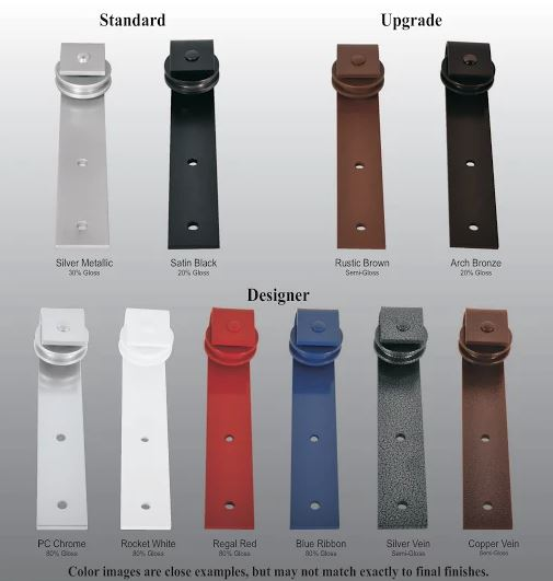 Hardware Color Options