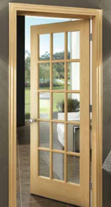 Pine True Divided Lite Doors