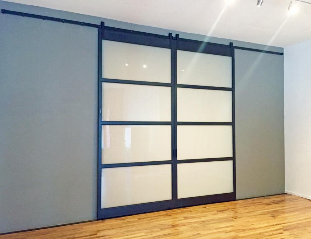 Oversized 5ft x 11ft - Iron Doors